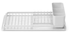 Brabantia kompaktna podloga za sušenje posode, svetlo siva
