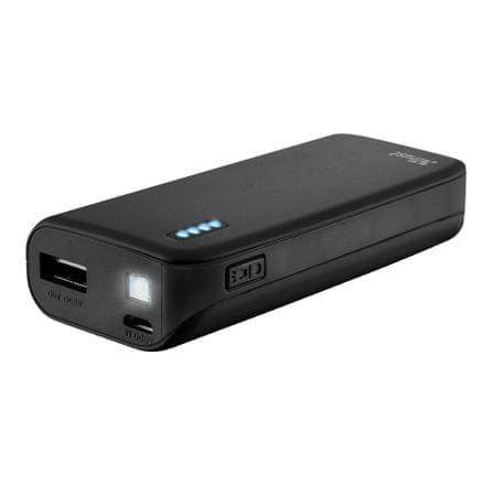 Trust polnilna baterija Primo 4400, črna