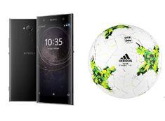 Sony GSM telefon Xperia XA2 Dual SIM, črn + DARILO: Adidas žoga Team training PRO