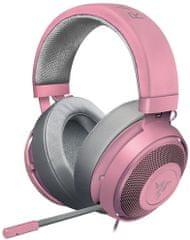 Razer Słuchawki Kraken Pro V2 Oval Quartz, różowy (RZ04-02050900-R3M1)