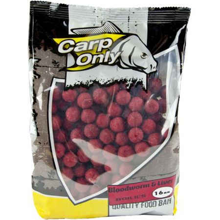 Carp Only Boilies Bloodworm & Liver 1 kg 16 mm