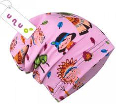Unuo Dívčí čepice Indiáni na růžové - růžová