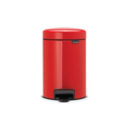 Brabantia koš za smeti, 3 L rdeča