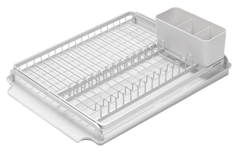 Brabantia Odkapávač na nádobí, stříbrný