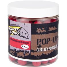 Carp Only Plovoucí Boilies Pop Up 80 g 12 mm