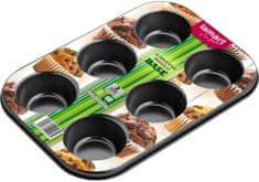 Lamart Forma na 6 muffinů 26,5 x 18 cm Base LT3071