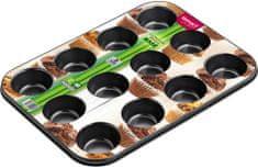Lamart Forma na12 muffinů 26,5 x 18 cm Base LT3071