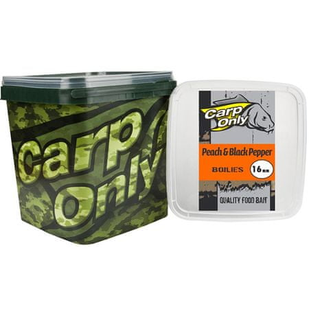 Carp Only Boilies Peach & Black Pepper 3 kg 20 mm
