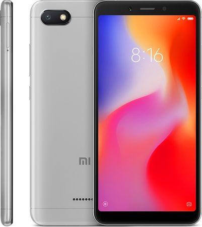 Xiaomi Redmi 6A, Dual Sim, 2GB/16GB, szary