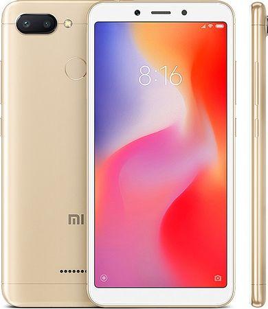 Xiaomi Redmi 6, 3GB/64GB, Dual SIM, zlatý