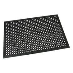FLOMAT Gumová vstupní rohož s obvodovou hranou Dirt Catcher - 120 x 80 x 1,4 cm