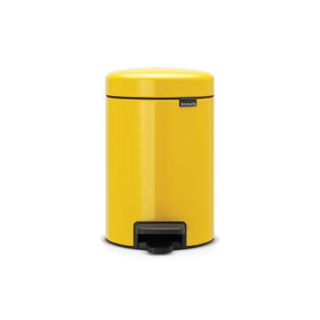 Brabantia koš za smeti, 3L rumena