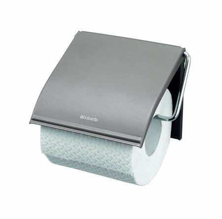 Brabantia držalo za toaletni papir Classic Platinum