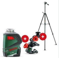 Bosch linijski laser PLL 360 + stojalo TT 150 + univerzalno držalo MM 2 (0603663006)