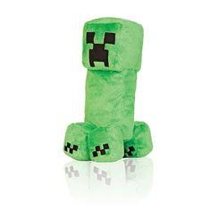 J!NX plišasta figura Minecraft Creeper, 26,67 cm