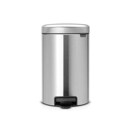 Brabantia koš za smeti, 12 L, mat kovinski