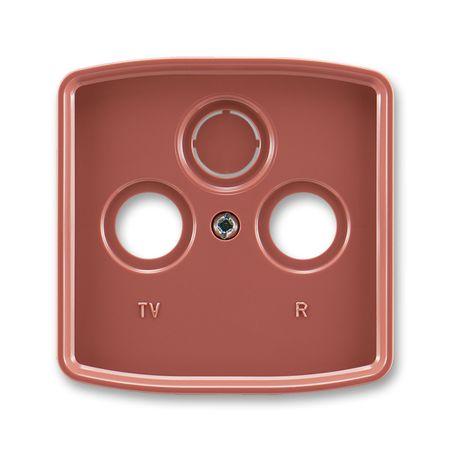 ABB 5011A-A00300 R2 Kryt TV+R+SAT zásuvky