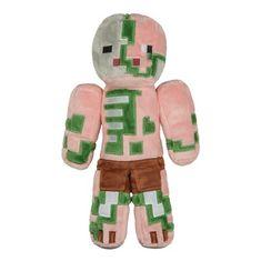 J!NX plišasta figura Minecraft Zombie Pigman, 30,48 cm