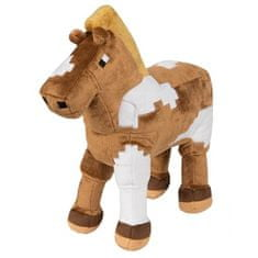 J!NX plišasta figura Minecraft Horse, 33,02 cm