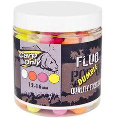Carp Only Plovoucí Boilies Fluo Mix 4 Barev 80 g 12/16/20 mm