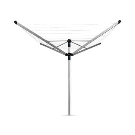 Brabantia zunanji sušilnik Lift-O-Matic za perila 50m, siv