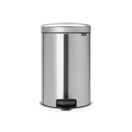 Brabantia koš za smeti, 20 L, mat kovinski
