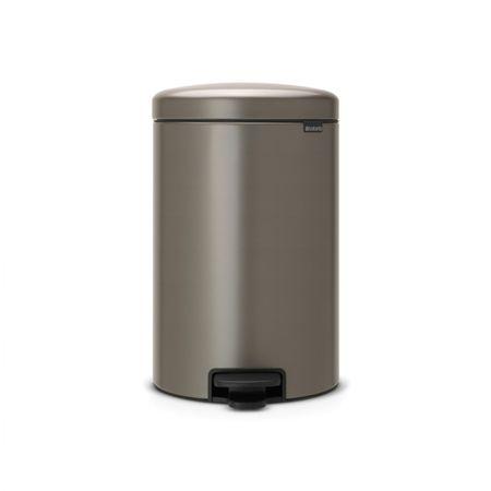 Brabantia koš za smeti, 20 L, platinum