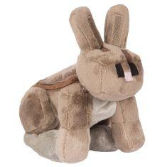 J!NX plišasta figura Minecraft Rabbit, 20,32 cm