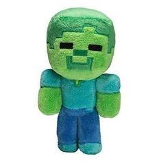 J!NX plišasta figura Minecraft Baby Zombie, 21,59 cm