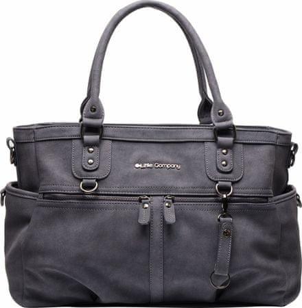 Little Company previjalna torba Milan, temno modra