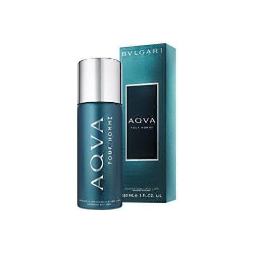 Bvlgari Aqva Pour Homme - osvěžující tělový sprej 150 ml pro muže
