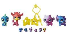 Littlest Pet Shop Kozmikus kisállatok 10 db