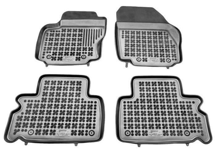 REZAW-PLAST Gumové koberce, sada 4 ks (2x přední, 2x zadní), Ford Galaxy 2006-2015, Ford S-MAX 2006-2015