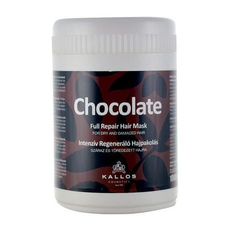 Kallos Intenzivně regenerační maska Chocolate (Chocolate Full Repair Hair Mask) (Objem 1000 ml)