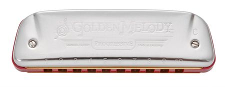 Hohner Golden Melody B-major Foukací harmonika