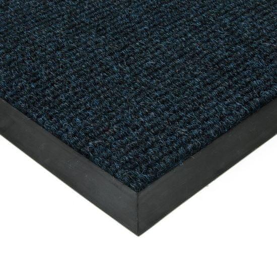 FLOMA Modrá textilní zátěžová čistící vnitřní vstupní rohož FLOMA Catrine - 1,35 cm