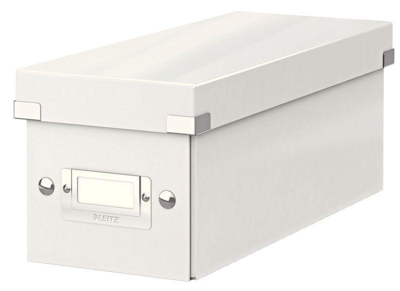 Krabice CLICK & STORE WOW na CD, bílá