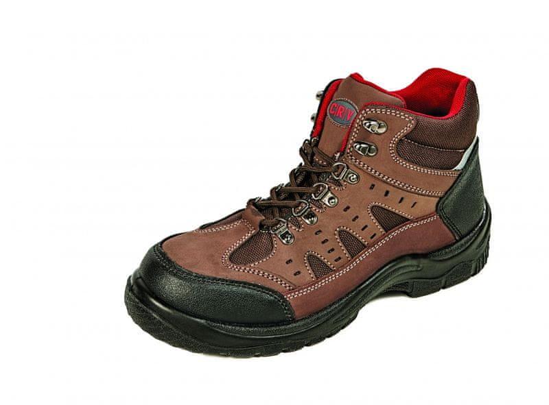 5a81f699202 CRV COOMBE S1P kotníková obuv hnědá 44