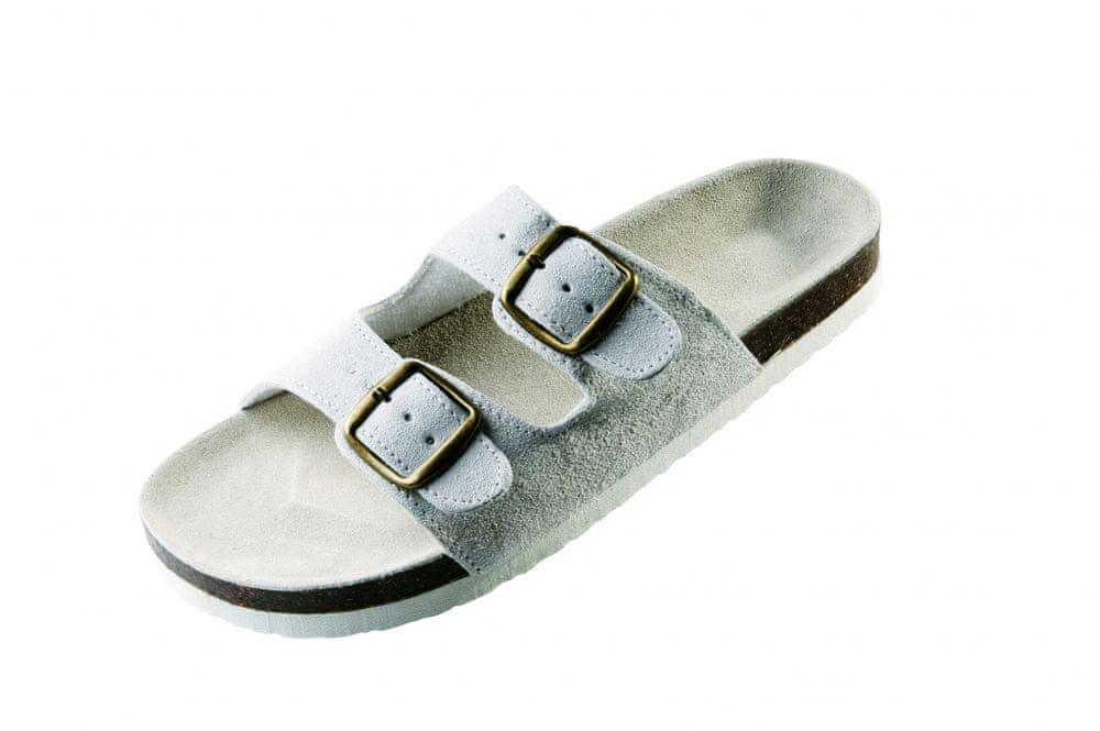 Červa PUDU pantofle bílá 46