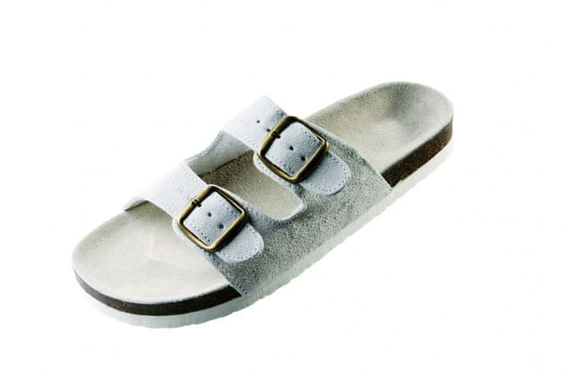 Červa PUDU pantofle bílá 40