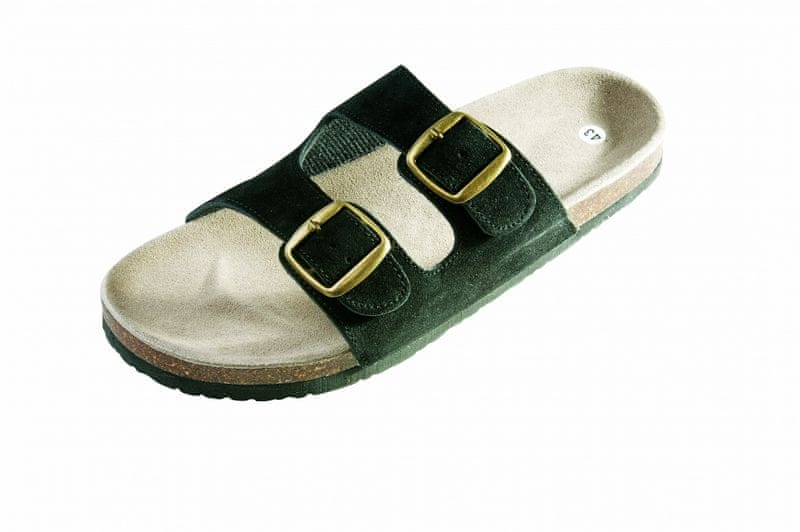 Červa PUDU pantofle černá 46
