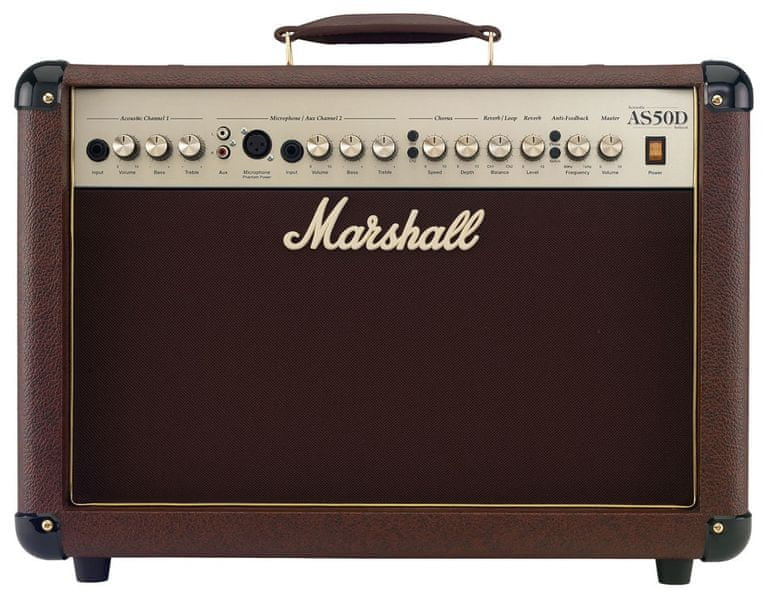 MARSHALL AS50D Kombo pro akustické nástroje