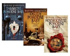 Ebertová Sabine: Komplet Tajemství porodní báby + Osudy porodní báby + Rozhodnutí porodní báby
