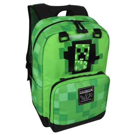 J!NX nahrbtnik Minecraft Creepy Creeper, zelen
