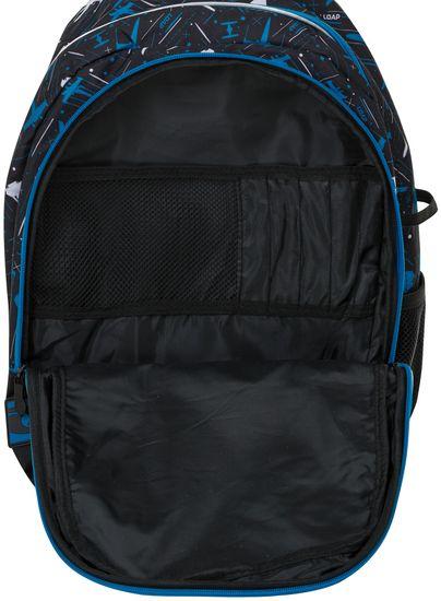 Loap Plecak szkolny Ellipse czarny/niebieski