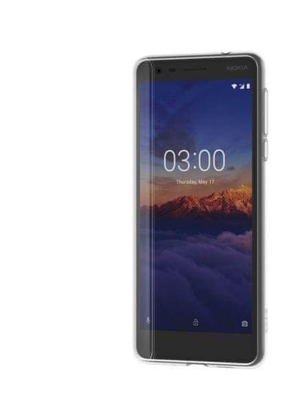 Nokia 3.1 pouzdro, clear CC-108