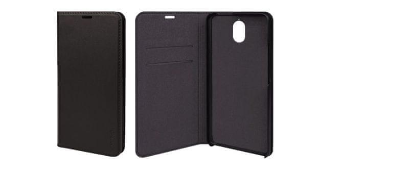 Nokia Slim Flip cover CP-306 for Nokia 3.1 Black