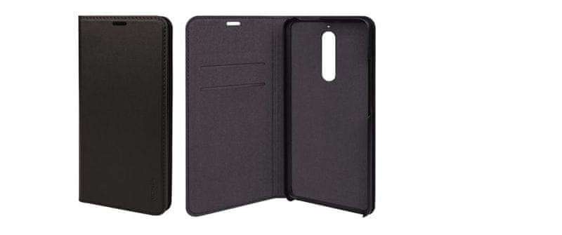 Nokia Slim Flip cover CP-307 for Nokia 5.1 Black