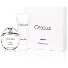 Calvin Klein Obsessed For Women - EDP 50 ml + tělové mléko 100 ml