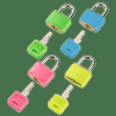 Hama ključavnica, 20 mm, barvna, 4 kosi